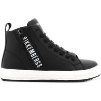 Scarpe Bambino Sneakers basse Bikkembergs junior sneakers alte K3B4-20733-0289999 NERO (30/34) Pelle