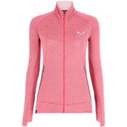 Abbigliamento Donna Felpe in pile Salewa Pedroc PL R W FZ 27720-6579 pink