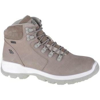 Scarpe Donna Sneakers alte 4F OBDH253 Beige