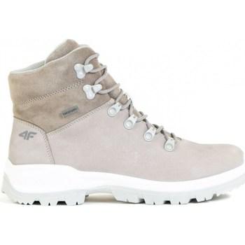 Scarpe Donna Sneakers alte 4F OBDH251 Beige