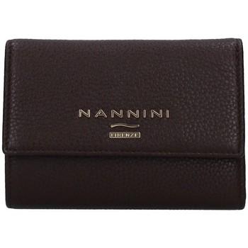 Borse Donna Portafogli Nannini QB0681 MARRONE