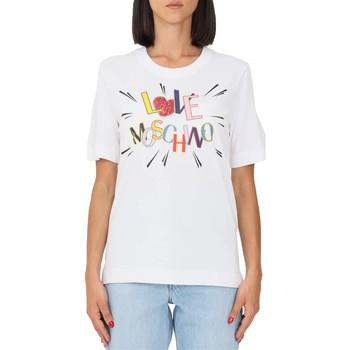 Abbigliamento Donna T-shirt maniche corte Love Moschino w4f153em3876 nd