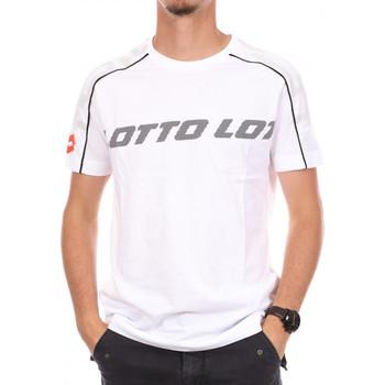 Abbigliamento Uomo T-shirt maniche corte Lotto -215584 Bianco