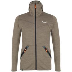 Abbigliamento Uomo Felpe in pile Salewa Bluza  Nuvolao Alpinewool® 28051-7951 brown