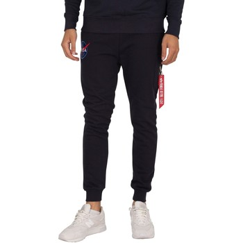 Abbigliamento Uomo Pantaloni da tuta Alpha Pantaloni cargo della NASA blu