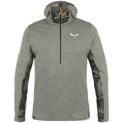Abbigliamento Uomo Felpe in pile Salewa Bluza  Boe Merino Half-Zip 28201-0624 grey