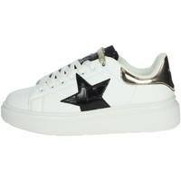 Scarpe Donna Sneakers alte Shop Art SA80215 BIANCO/NERO