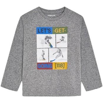 Abbigliamento Bambino T-shirts a maniche lunghe Mayoral  Gris