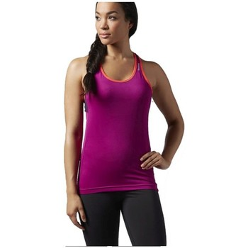 Abbigliamento Donna Top / T-shirt senza maniche Reebok Sport Wor Lbt Rosa
