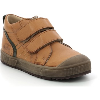 Scarpe Unisex bambino Sneakers alte Aster Chaussures enfant  Biboc marron camel