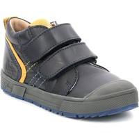 Scarpe Unisex bambino Sneakers alte Aster Chaussures enfant  Biboc bleu marine