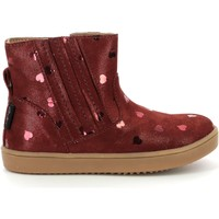 Scarpe Bambina Stivaletti Aster Chaussures fille  Welsea bordeaux