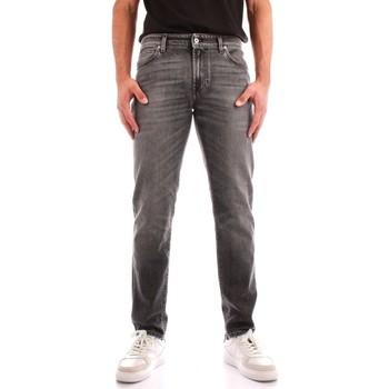 Abbigliamento Uomo Jeans dritti Roy Rogers A21RRU075N0561889 NERO