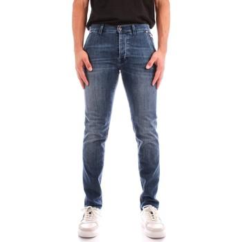 Abbigliamento Uomo Jeans dritti Roy Rogers A21RRU006D463A145 BLU JEANS