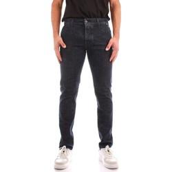 Abbigliamento Uomo Jeans dritti Roy Rogers A21RRU006D4390963 BLU JEANS