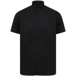 Abbigliamento Uomo Camicie maniche corte Henbury H517S Nero