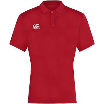 Abbigliamento Uomo Polo maniche corte Canterbury CN263 Rosso