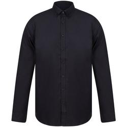 Abbigliamento Uomo Camicie maniche lunghe Henbury H512S Nero