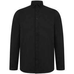 Abbigliamento Uomo Camicie maniche lunghe Henbury H512R Nero