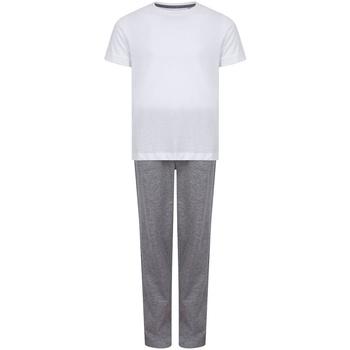 Abbigliamento Bambina Pigiami / camicie da notte Towel City TC59 Bianco/Grigio