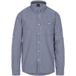 Abbigliamento Uomo Camicie maniche lunghe Trespass  Blu