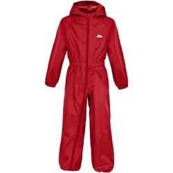 Abbigliamento Unisex bambino Tuta jumpsuit / Salopette Trespass  Rosso