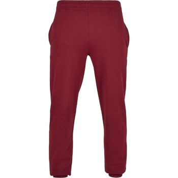 Abbigliamento Pantaloni Build Your Brand BB002 Bordeaux