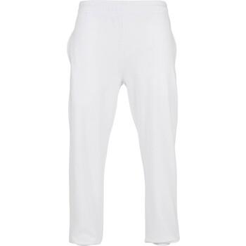 Abbigliamento Pantaloni Build Your Brand BB002 Bianco