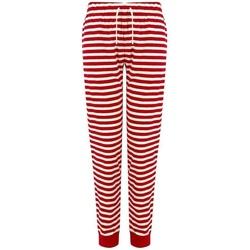 Abbigliamento Donna Pantaloni Skinni Fit SK085 Rosso