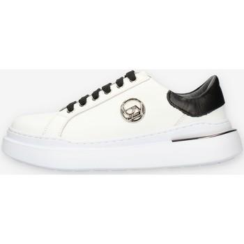 Scarpe Donna Sneakers basse Byblos Blu BB040 Bianco