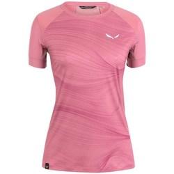 Abbigliamento Donna T-shirt maniche corte Salewa Seceda Dry W Rosa