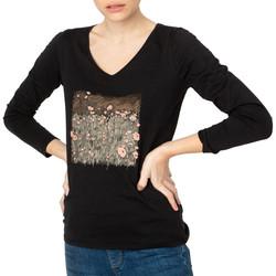 Abbigliamento Donna T-shirts a maniche lunghe TBS SOLINVER Nero