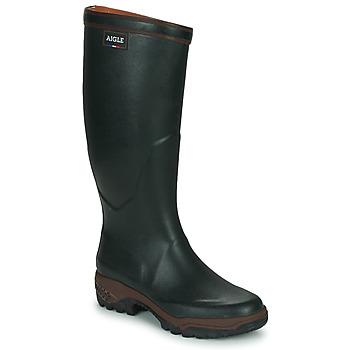 Scarpe Uomo Stivali da pioggia Aigle PARCOURS 2 Verde