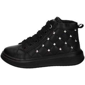 Scarpe Bambina Sneakers alte Balducci BS2805 NERO