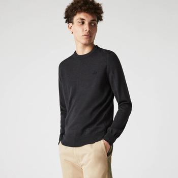 Abbigliamento Uomo Maglioni Lacoste Pullover Uomo AH1969 in jersey di lana 35