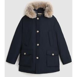 Abbigliamento Uomo Parka Woolrich WOOU0482MR melton blu