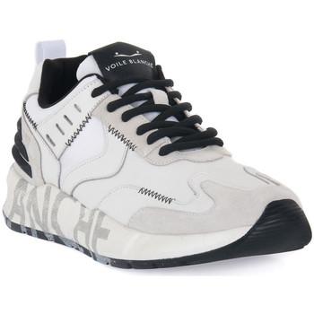 Scarpe Uomo Sneakers basse Voile Blanche CLUB15 Bianco