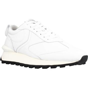 Scarpe Uomo Sneakers basse Voile Blanche QWARK MAN CALF Bianco