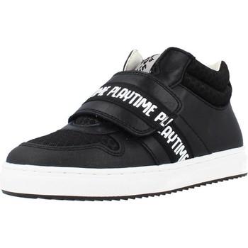 Scarpe Bambino Sneakers alte Garvalin 211638 Nero
