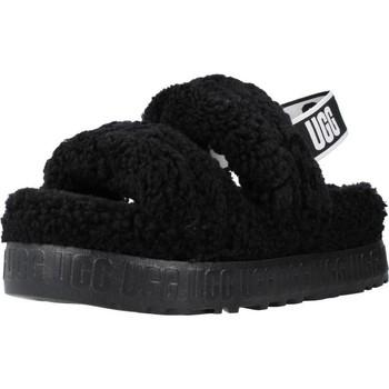 Scarpe Donna Pantofole UGG W OH FLUFFITA Nero