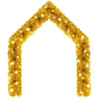 Casa Decorazioni natalizie VidaXL Ghirlanda 10 m Oro