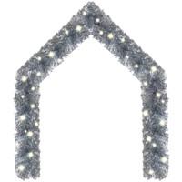 Casa Decorazioni natalizie VidaXL Ghirlanda 5 m Argento