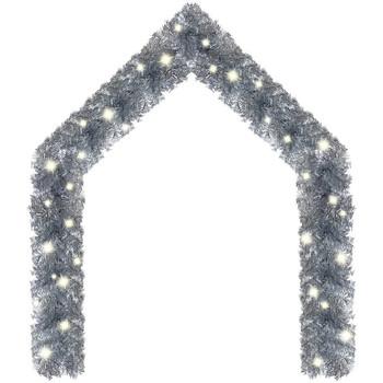 Casa Decorazioni natalizie VidaXL Ghirlanda 20 m Argento