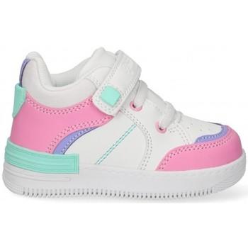 Scarpe Bambina Sneakers basse Bubble 58897 Bianco