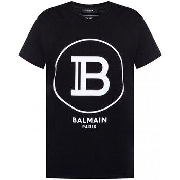 Abbigliamento Uomo T-shirt maniche corte Balmain maniche corte TH11601 I201 - Uomo nero