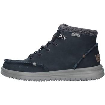 Scarpe Uomo Sneakers alte Hey Dude 11330 BLU