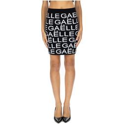 Abbigliamento Donna Gonne GaËlle Paris MINIGONNA ALLOVER nero