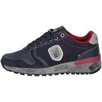 Scarpe Uomo Sneakers basse Marina Militare MM2273 BLU