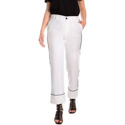 Abbigliamento Donna Chino Denny Rose 811DD20006 Bianco