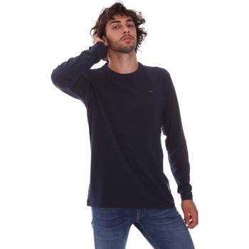 Abbigliamento Uomo T-shirts a maniche lunghe Key Up 2E96B 0001 Blu